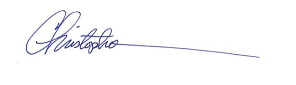 christopher tweel signature